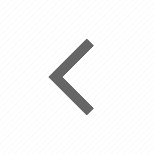 back, chevron, directional, left icon