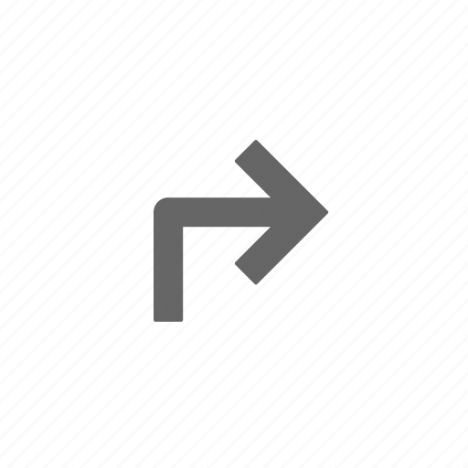 directional, directions, navigation, point, right, up icon