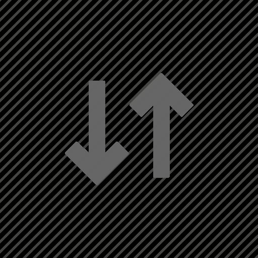 arrows, passing, reorder icon