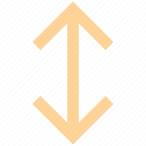 arrow, arrows, data transfer, transfer, up and down icon