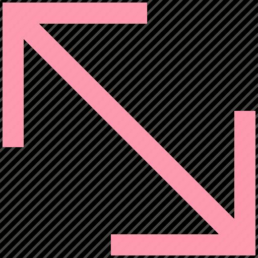 arrow, arrows, change, change arrow, scale icon