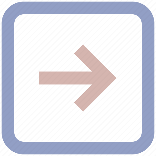Arriw, arrow, box, forward, right, right arrow icon - Download on Iconfinder