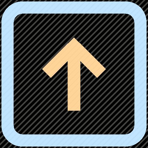 arrow, box, down arrow, forward, left, up arrow icon