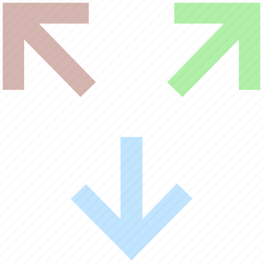 arrow, arrows, direction, directions, map, move, navigation icon