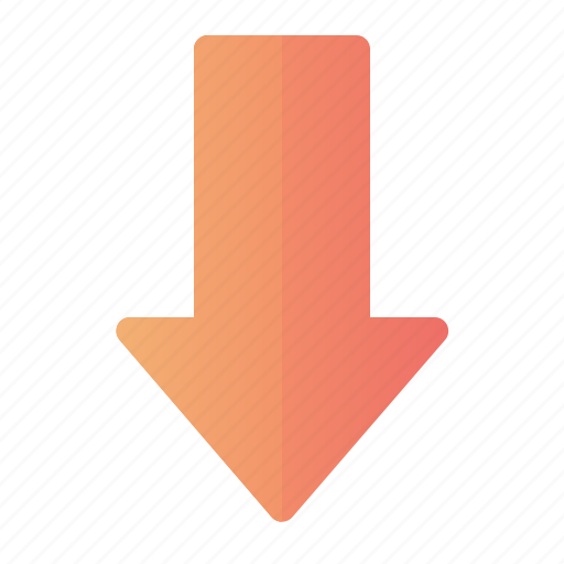Arrow, down, move, pointer icon - Download on Iconfinder