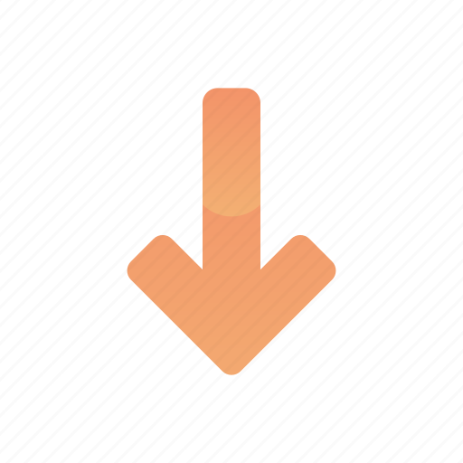Arrow, down, download, move icon - Download on Iconfinder
