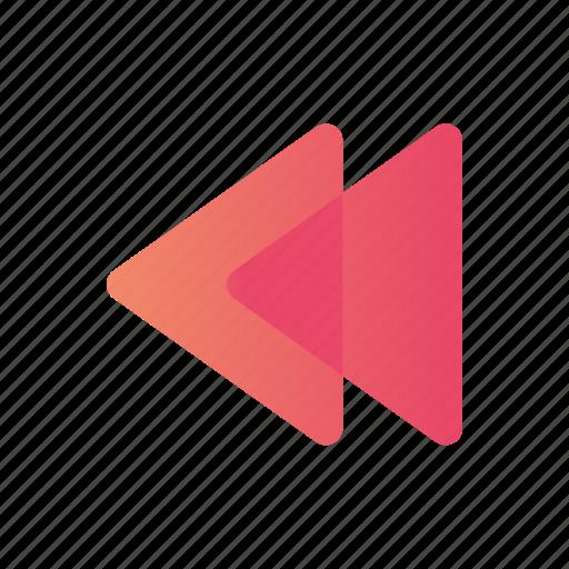 arrow, left, move, pointers icon