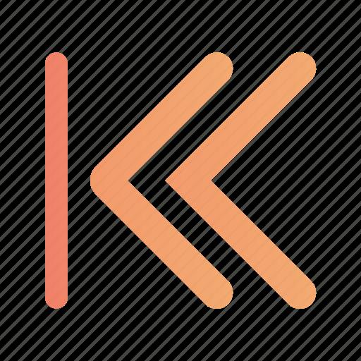 Arrow, left, line, rewind icon - Download on Iconfinder