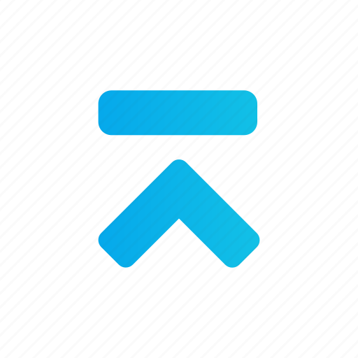 Arrow, media, multimedia, up icon - Download on Iconfinder