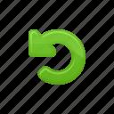 arrows, back arrow, refresh, reload, reload arrow icon