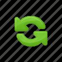 arrows, exchange, exchange arrows icon