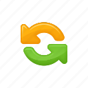 arrows, data, download, exchange, exchange arrows, upload icon