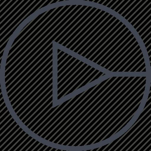 arrow, go, point, pointer icon