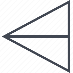 exit, left, point, pointer icon