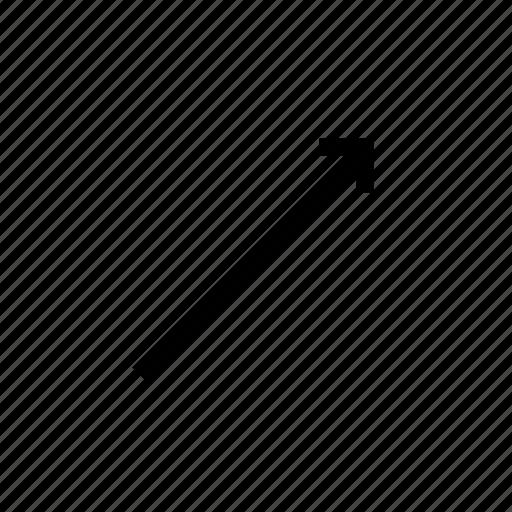 arrow, growth icon
