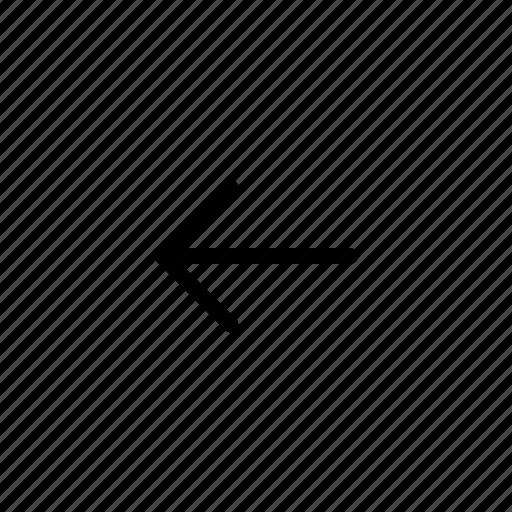 Arrow, arrows, left arrow, left icon icon - Download on Iconfinder