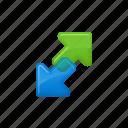 arrows, download, download arrow, upload, upload arrow icon