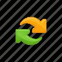 arrows, change, exchange icon