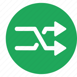 crossover, direction, road, same, sign icon