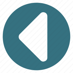 arrow, back, direction, left, replay icon