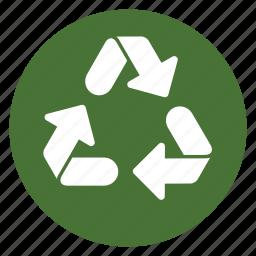 arrow, consumption, environment, recycling, reuse, saving icon