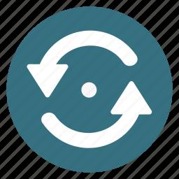 arrow, counterclockwise, left, refesh, repeat, turning icon