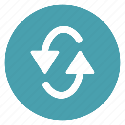 arrow, counterclockwise, left, oval, refresh, repeat, turning icon