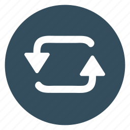 arrow, counterclockwise, left, refresh, repeat, turning icon