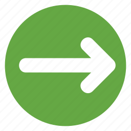 arrow, direction, movement, right, sign icon