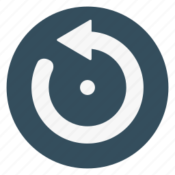 arrow, counterclockwise, left, loading, refresh, rotate, turning icon