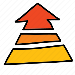 arrows, changing, rising, temperature, up icon
