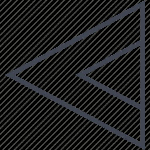arrow, go, left, point, pointer icon