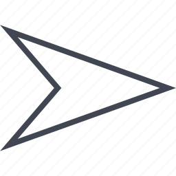 arrow, point, pointer, right icon