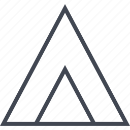 arrow, point, pointing, up icon