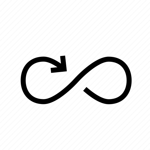 loop, looped icon