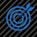achievement, arrow, bulleye, goal, objectives, target, targeting