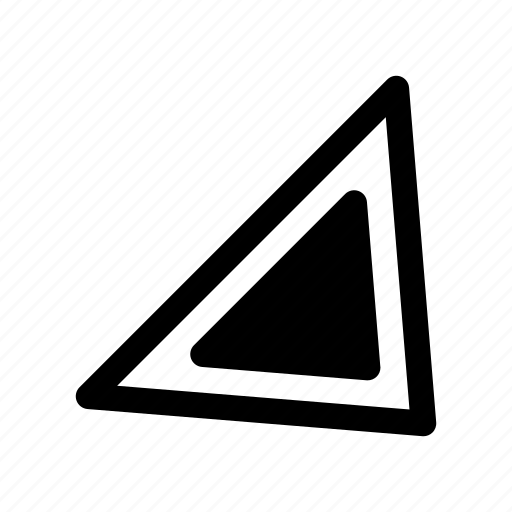 arrow, bottom, direction, navigation, right, southeast, way icon