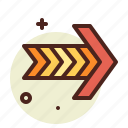 arrow2, direction, interface icon