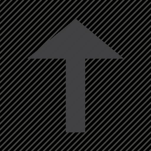 arrow, arrows, send, up, upload icon