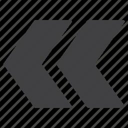 arrow, arrows, left icon