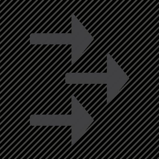 arrow, arrows, right icon