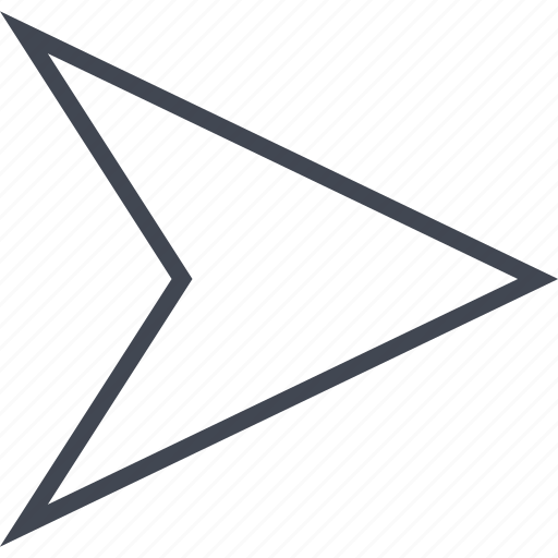 arrow, go, next, point, pointer icon