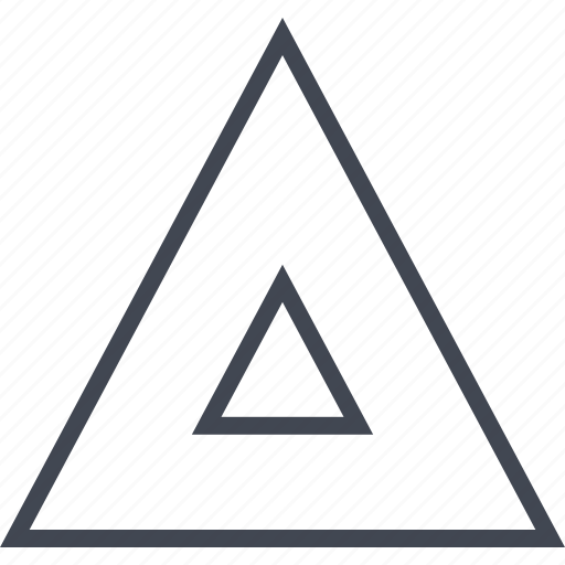arrow, triangle, up, upload icon