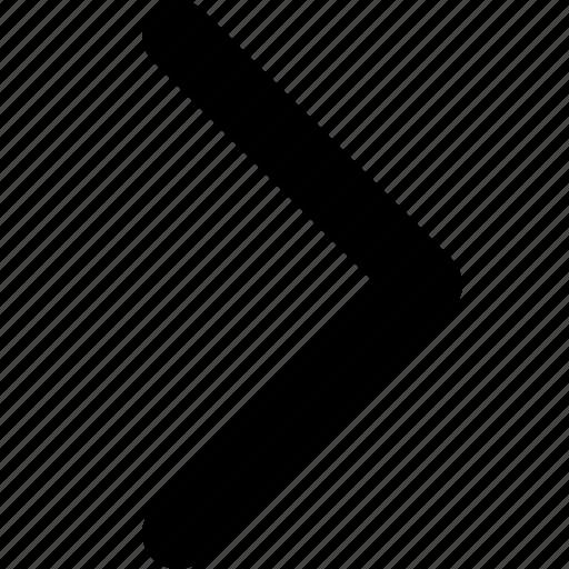 arrow, arrow right, next, point, right icon