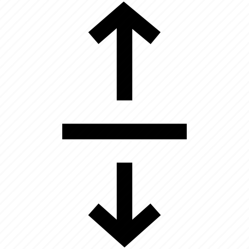 arrows, expand, two, up and down icon