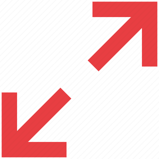 arrows, expand, full, screen, zoom icon