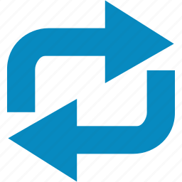 arrow, refresh, reload, repeat, sync icon