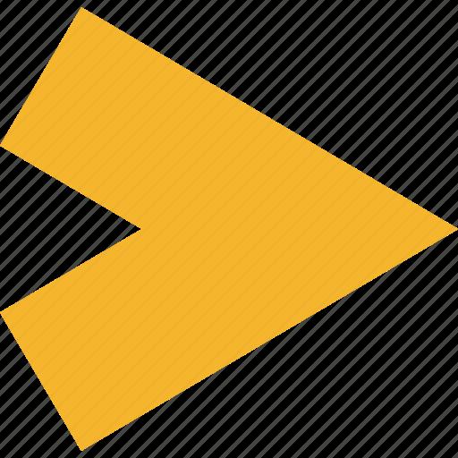 Arrow, forward, right, next icon