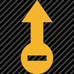 arrow, remove icon