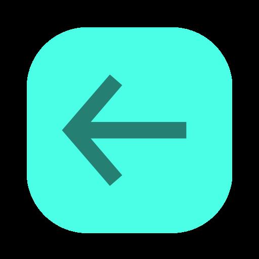 arrow left, back, backwards, left, left arrow, long arrow, previous icon